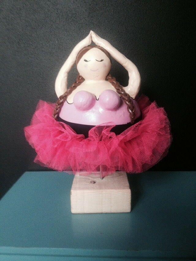 Ballerina met tutu zoooo mooi