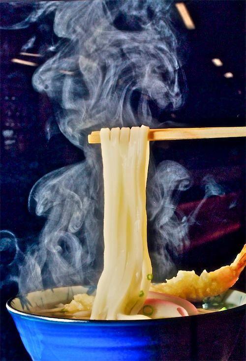 mmmmm noodles!!!!   Japanese udon noodle #noodles
