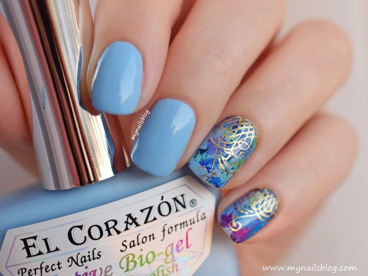 My nails blog: El Corazon Active Bio-gel Luminous №423/491 #elcorazon
