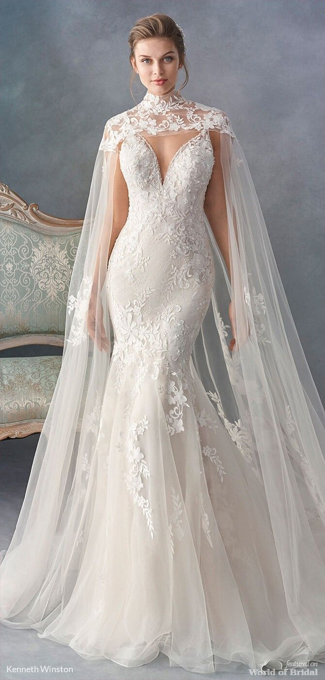 Kenneth winston fall bridal collection dress pinterest