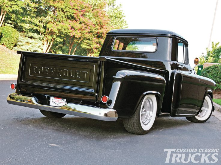 1956 chevy truck | 1956 Chevrolet 3100 Truck - Old School Swagger Photo Gallery