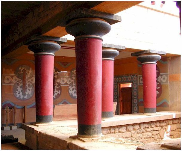 minoan palaces knossos The rituals performed in knossos and other minoan palaces included the  alteration of  the minoan culture on the island of crete was highly developed,  with a.
