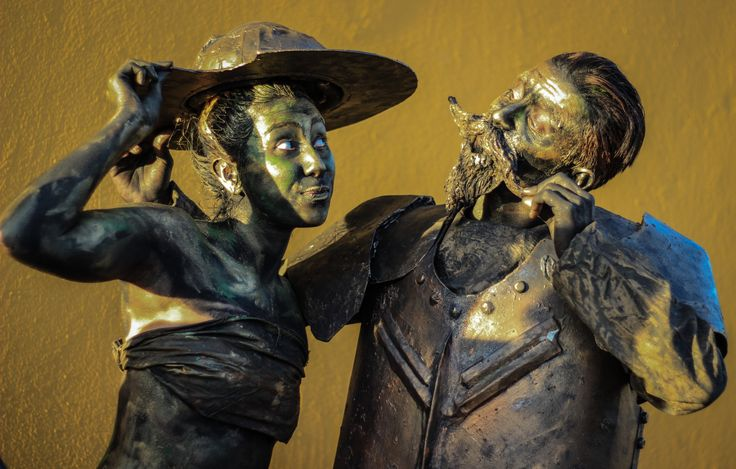 Estatuas al vivo