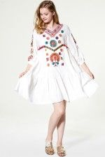 Amber Embroidery Voile Dress Discover the latest fashion trends online at storets.com