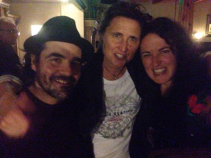 Steve, Annie and Trina. Annie Keating Trio.oktober 2015