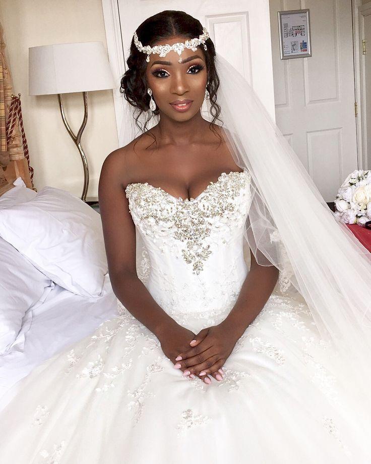 Edith Williams Bridal Makeup Artist For Black Brides London My Afro Caribbean Wedding Black Brides Hairstyles Black Bridal Makeup Black Wedding Hairstyles
