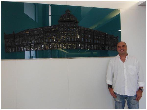 Banco Nacional de Angola    /  240 x 106 cm / contemporary art