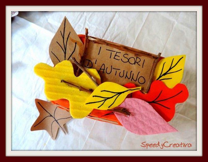 L'autunno è arrivato e porta con sé tantissimi tesori! Nei nostri bei boschi in autunno si trovano castagne, ghiande, noci e tante bellissime foglie colorate! E allora perché non avere uno scrigno per questi tesori? In fondo in fondo basterà un contenitore in cartone per le uova e poche cose, ecco quali: il contenitore in...