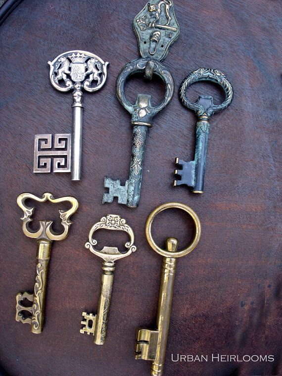 Vintage Key Corkscrews by UrbanHeirlooms