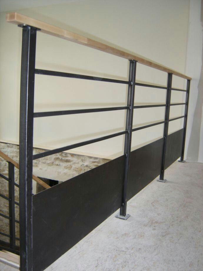 Les 142 meilleures images concernant escalier sur pinterest for Garde corps en bois interieur