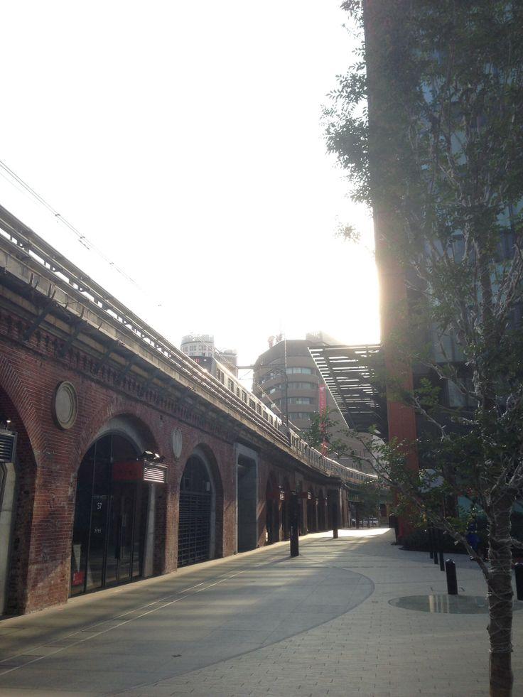 旧万世橋駅付近のレンガ高架