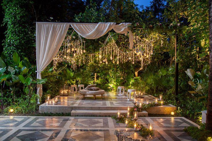 Stage adjacent to Moon Light Garden Terrace
