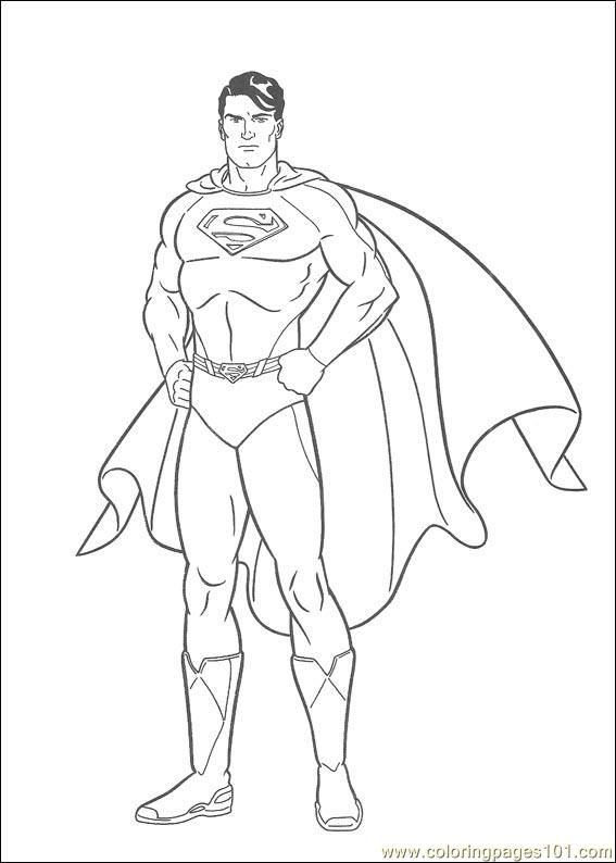 Superman Man Of Steel Coloring Big Pages Art Avengers Coloring Pages Superman Coloring Pages Avengers Coloring