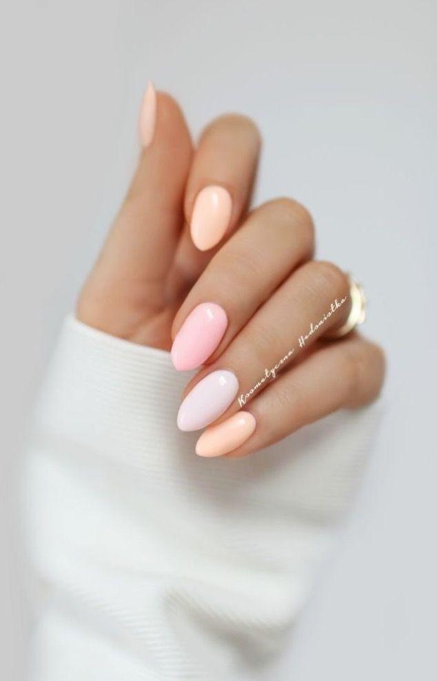 best 25 natural almond nails ideas on pinterest almond