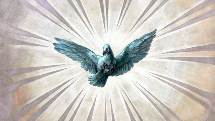 Symbolet for Den Hellige Ånd er ei due