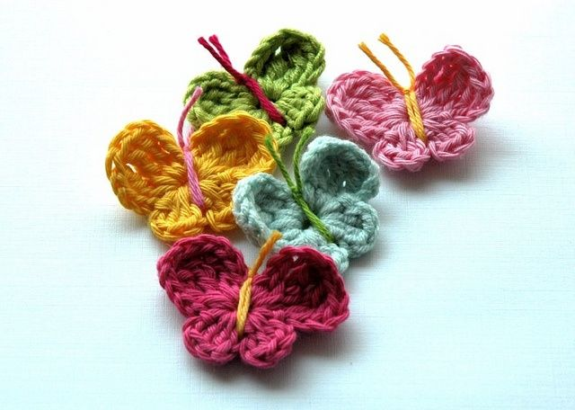 Crochet Butterfly : Crochet Butterfly. Crochet Pinterest