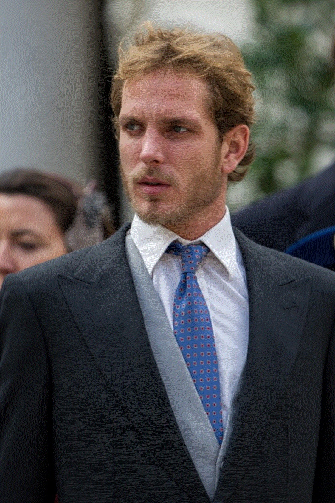 Andrea Casiraghi attends the Monaco National Day Celebrations in the Monaco Palace Courtyard on 19 Nov 2012