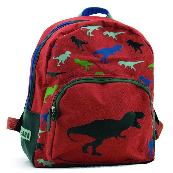 Kinderrugzak Boys T-Rex van Zebra Trends hier online kopen. Stoere kinderrugzak met dino