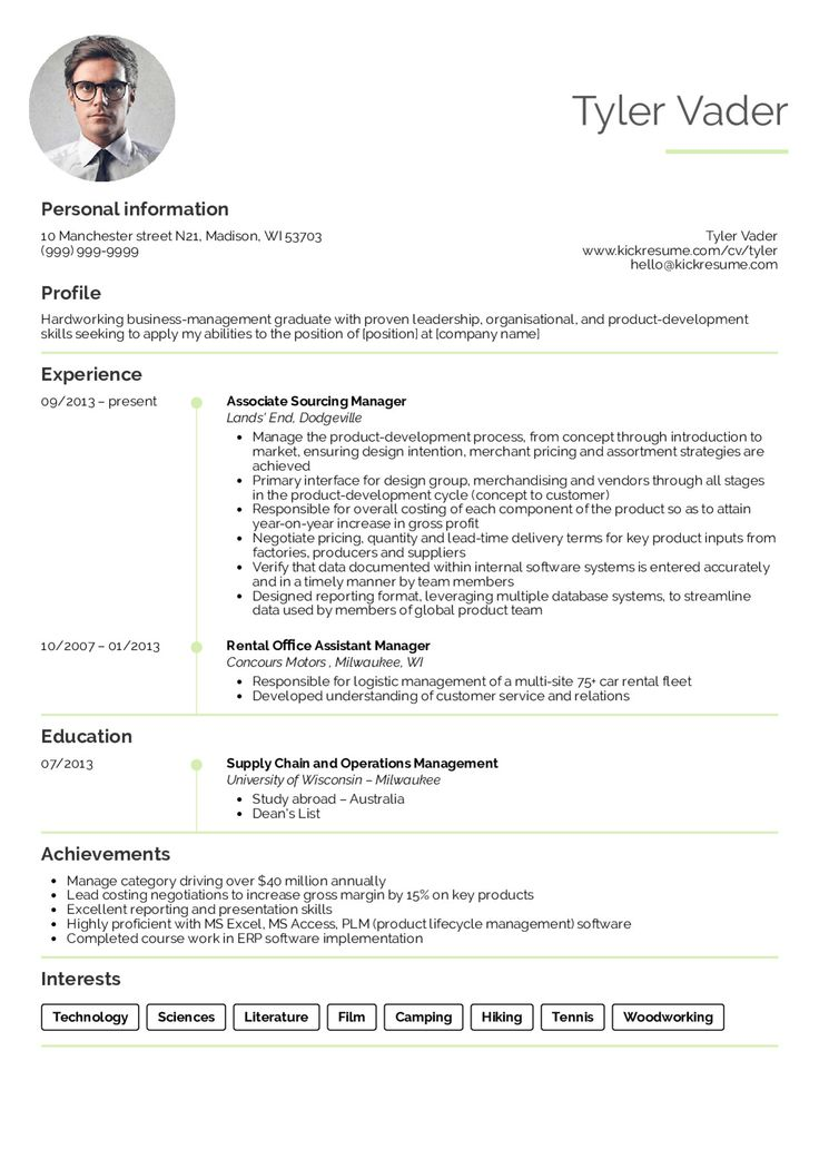 10+ Resume profile description examples ideas in 2021