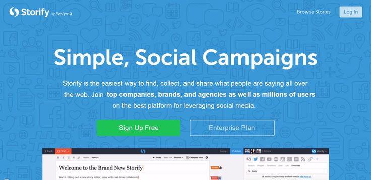 Una recensione completa, un video tutorial ed un esempio sul web tool per la content curation, Storify. Questa applicazione web è utilizzata in svariati campi, dal giornalismo all'organizzazione quotidiana di report aziendali, alla rappresentazione di contenuti multimediali.