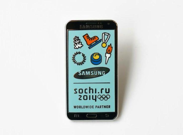 Sochi Olympic Games Pins for Samsung by Zeroperzero