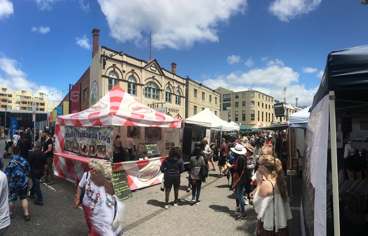 The Market in Hobart City