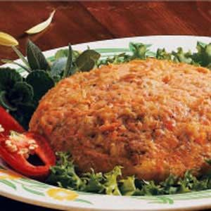 Slow Cooker Salmon Loaf