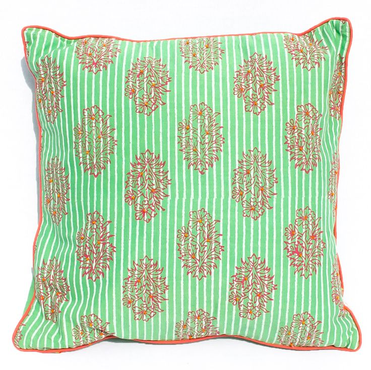 Boho Indian Small Cushion Cover, Throw Pillow, Cushion Cover green, home decor, new house gift, housewarming gift by Orunie on Etsy