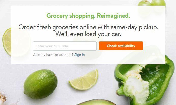 walmart grocery pickup promo code existing customers