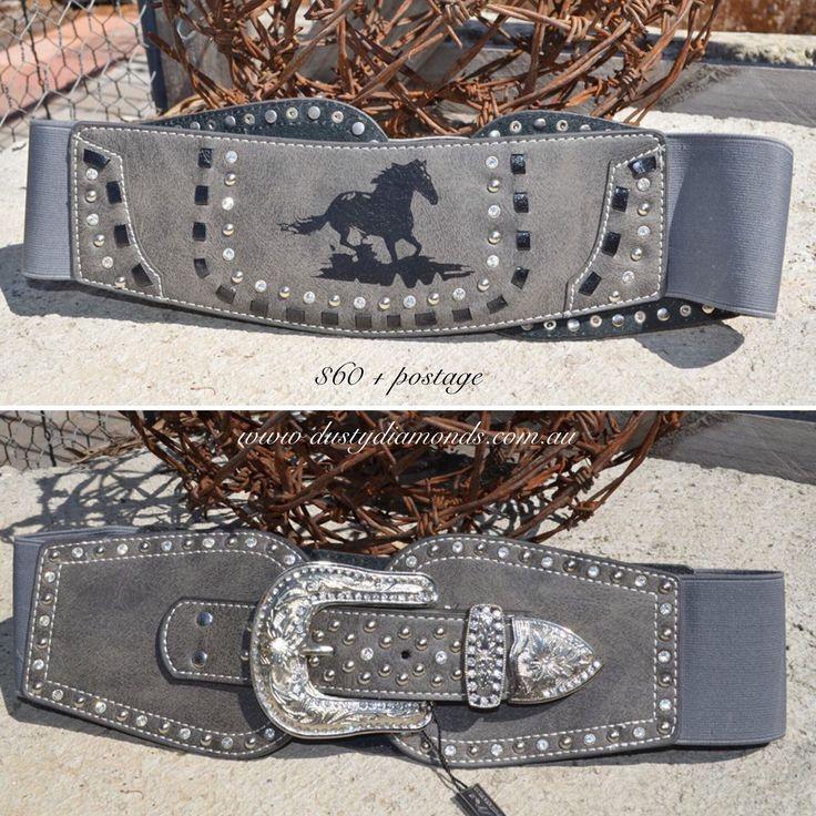 Montana West Summer Belts Www.dustydiamonds.com.au