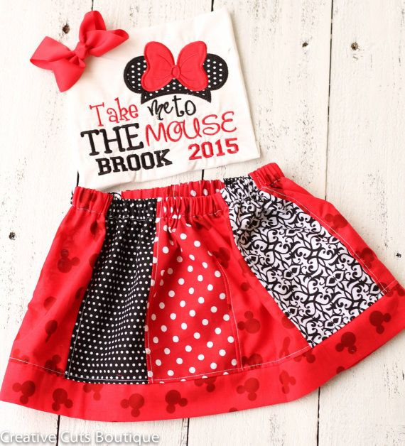 Disneyland Outfit Take me to the Mouse by CreativeCutsBoutique