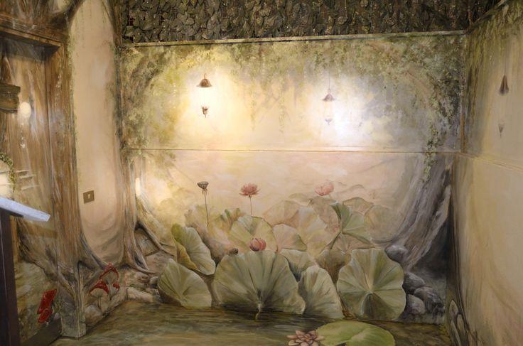 decorazione e pavimentazione in resina