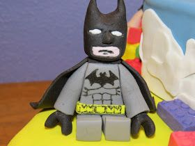 Sjov og ballade med kager: How to do lego Batman eller andre figur