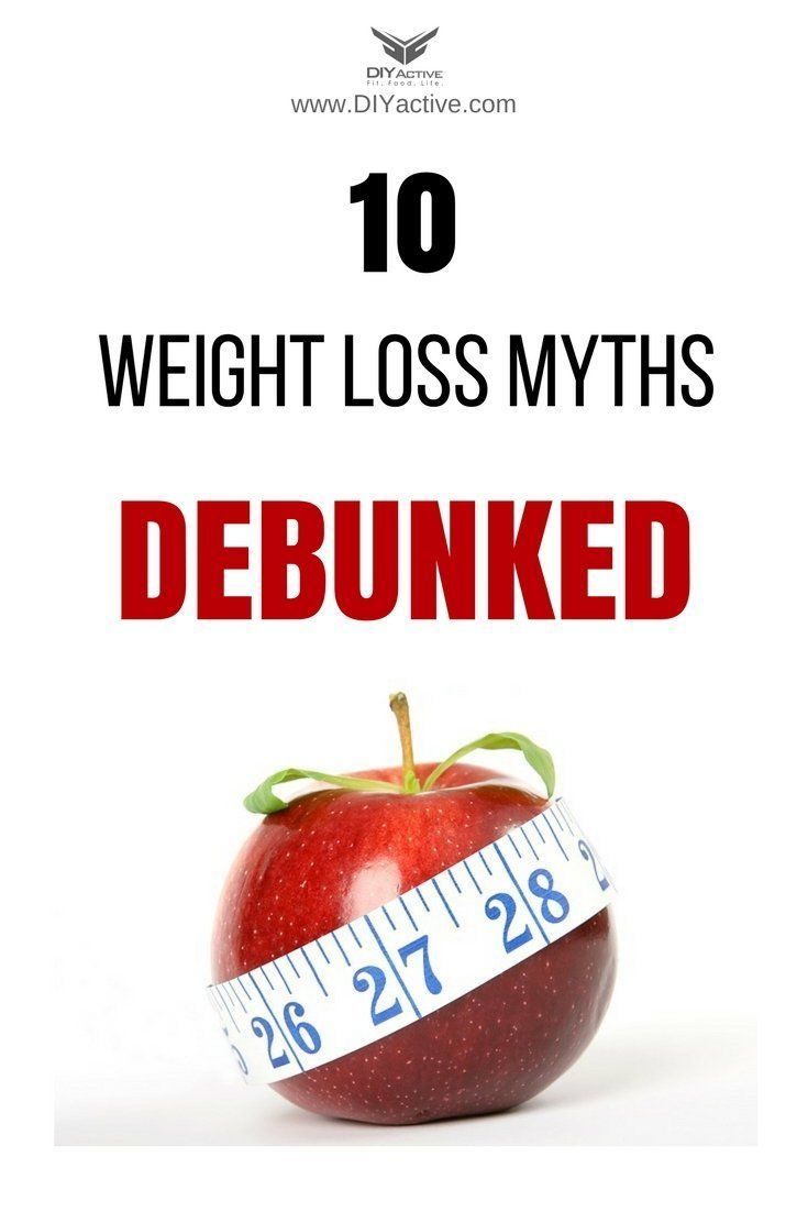 56eddc838d9 10 harmful weight loss myths debunked!  DIYActiveHQ  diet  exercise   nutrition  fitness  homefitness  weightloss
