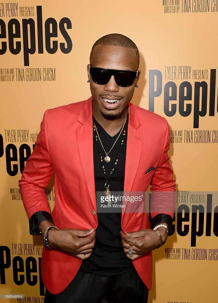 Rapper B.O.B arrives at the premiere of 'Peeples' presented by Lionsgate Film and Tyler Perry at ArcLight Hollywood on May 8, 2013 in Hollywood, California.