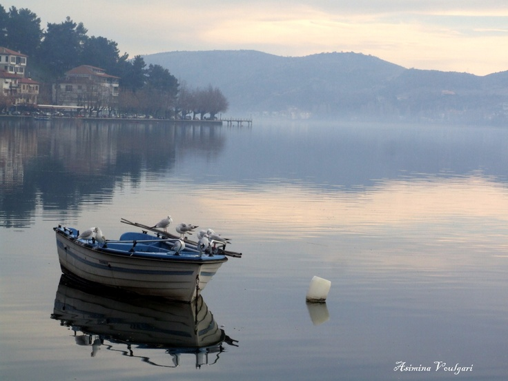 Lake of Kastoria, Greece