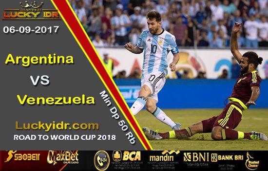 Prediksi Piala Dunia Argentina vs Venezuela 06 September 2017 | Aplikasi Tangkasnet