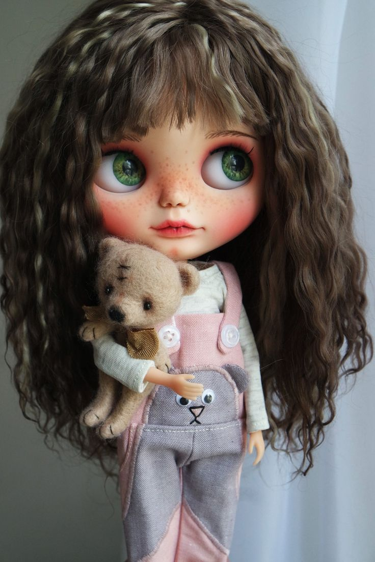 OOAK Custom Blythe Doll BECKA by Cihui by BlythebyCihui