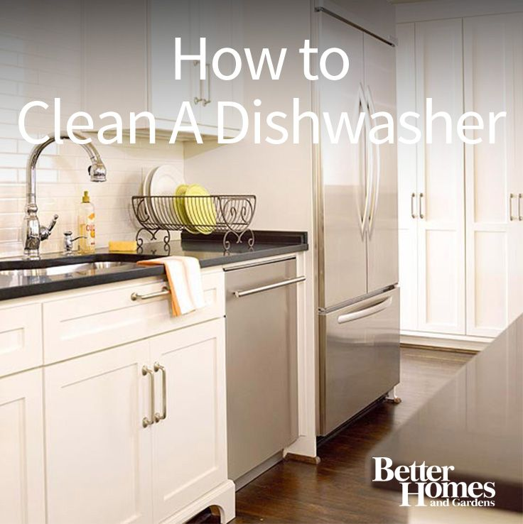 Cleaning your dishwasher is important to get rid of built up soap scum and food particles. Keep it running longer and see your dishes get cleaner with a deep cleaned dishwasher. Follow these super simple steps to use vinegar to clean your dishwasher.