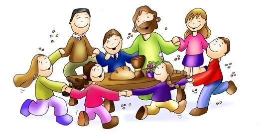 Alrededor de tu mesa brota la alegría. Jn 15, 1-8