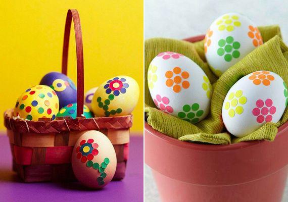 Cuki virágos húsvéti tojások kétbalkezeseknek is | femina.hu
