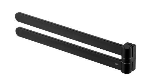 Bisk 02968 Futura Handtuchhalter Zweiarmig Satiniert 42.5 x 4 x 7.5 cm, Schwarz Bisk http://www.amazon.de/dp/B00BFQKVZ2/ref=cm_sw_r_pi_dp_ZvLpwb16J3KQ4