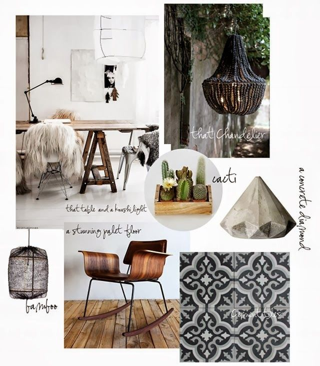 Méchant Design: my next house moodboard
