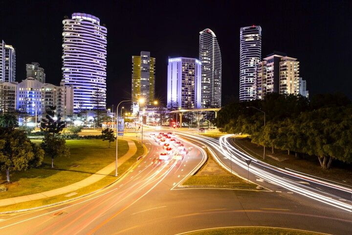 Broadbeach traffic trails  #goldcoast #visitgoldcoast #thisisqueensland #visitqueensland #travel