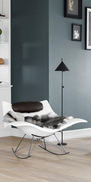 La silla mecedora Stingray ofrece un asiento de 360° y te abraza con comodidad desde todos los ángulos.