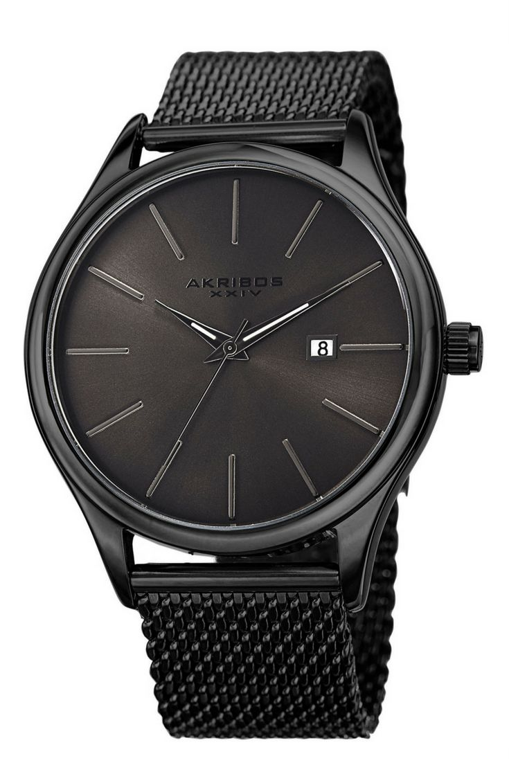 ''affiliate''  save 92 percent off from this Men's Akribos XXIV AK959 Quartz Sunray Dial Date Stainless Steel Mesh Watch BUY IT WITH ONLY 34.99 $ INSTEAD OF 425 $, act fast they are only limited quantiy available.