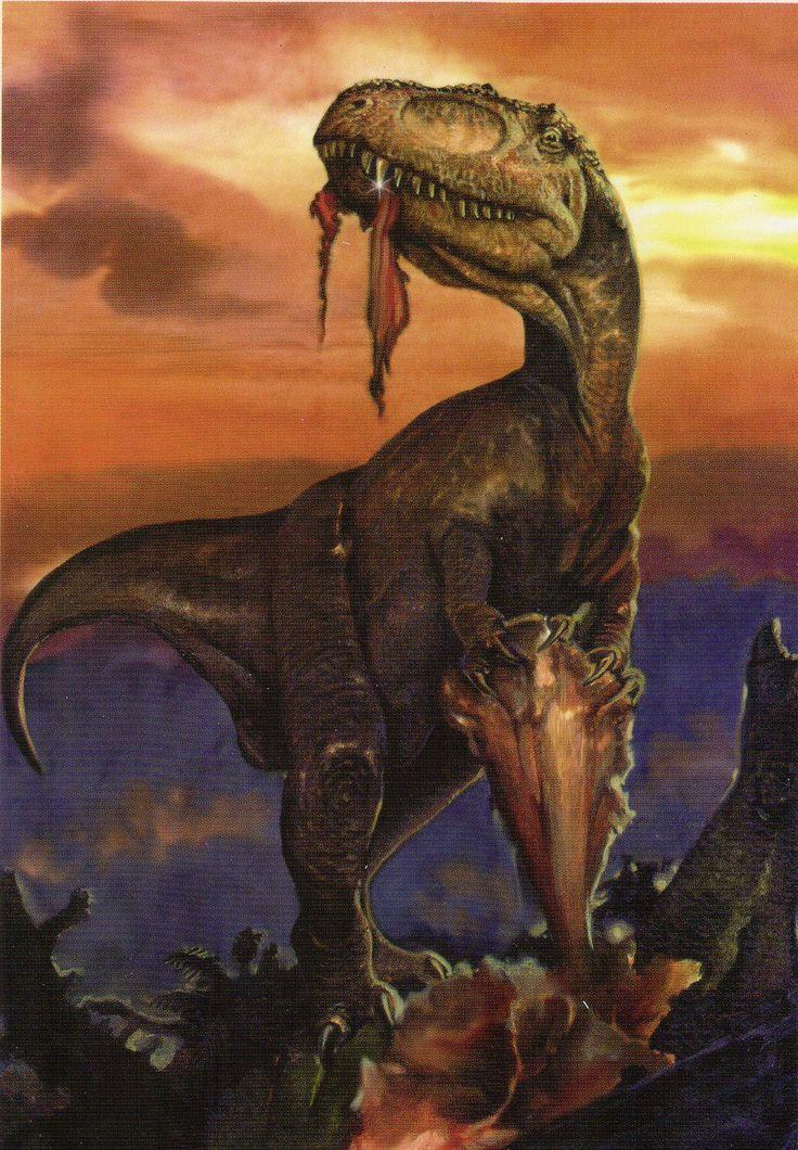 Yangchuanosaurus By Jan Sovak Dinosaurs Prehistoric