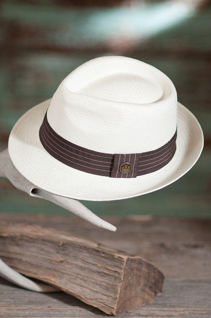 Snare Goorin Brothers Straw Fedora Hat | Overland Sheepskin