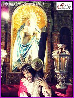 Cruces de Pasión: Chiclana(Cádiz)Besamano de Jesús Nazareno