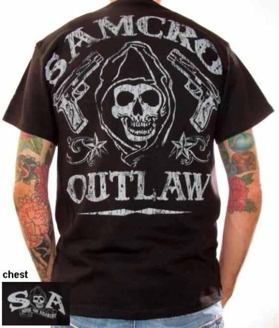 Opie Sons Arm Anarchy Tattoo